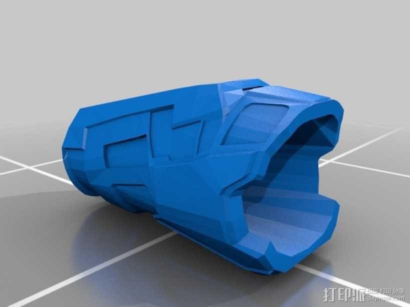 雷神之锤 盔甲 3D模型  图1