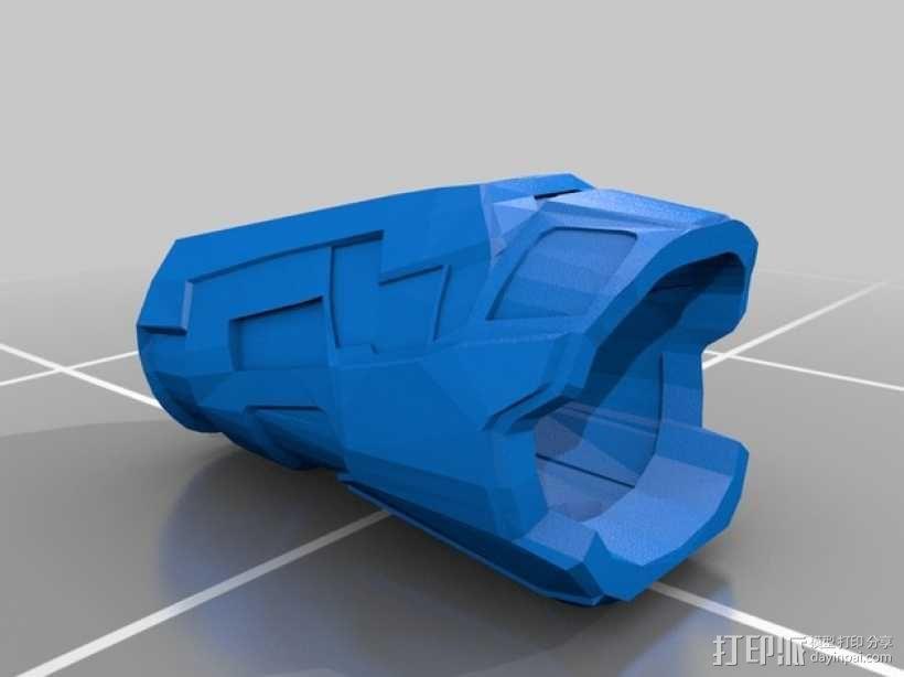 雷神之锤 盔甲 3D模型  图2
