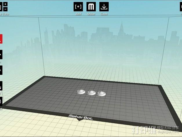 城市上空的UFO 3D模型  图15