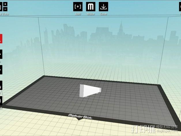 城市上空的UFO 3D模型  图16