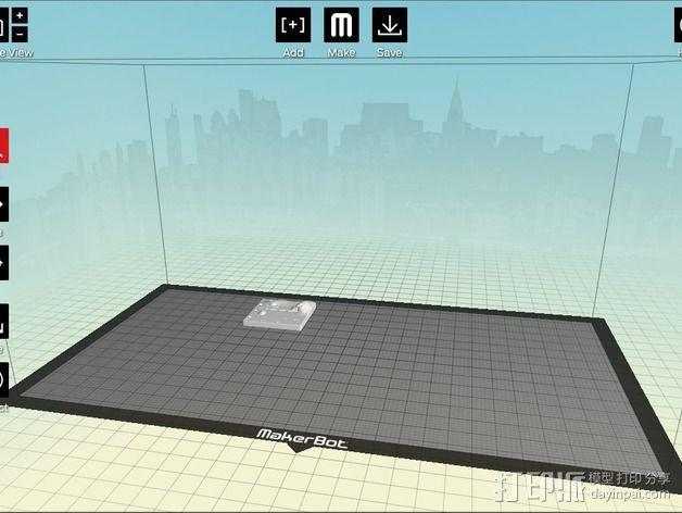 城市上空的UFO 3D模型  图21