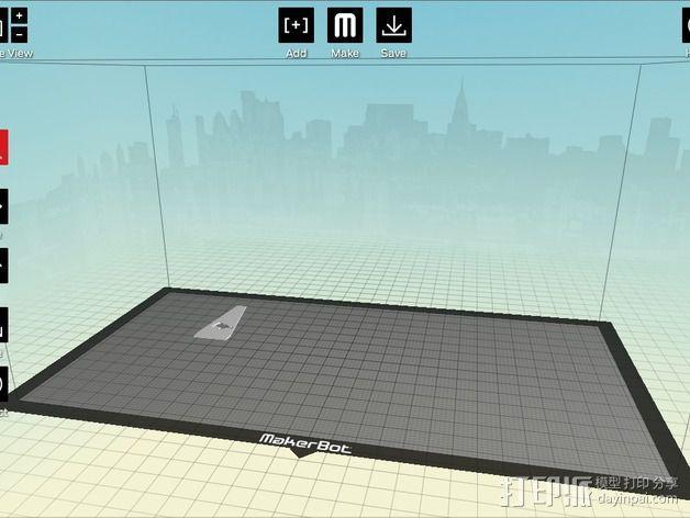 城市上空的UFO 3D模型  图20
