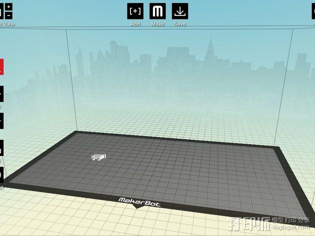 城市上空的UFO 3D模型  图23