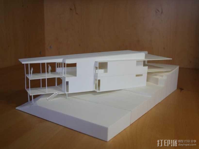 澳洲联储大厦模型 3D模型  图1