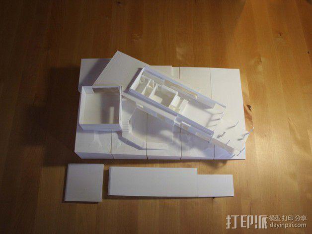 澳洲联储大厦模型 3D模型  图3