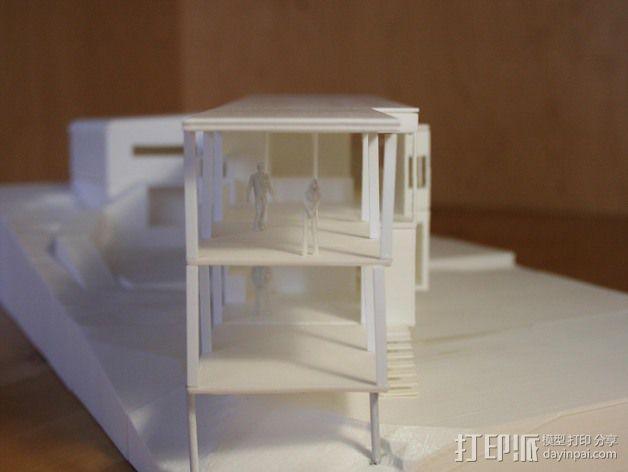 澳洲联储大厦模型 3D模型  图7