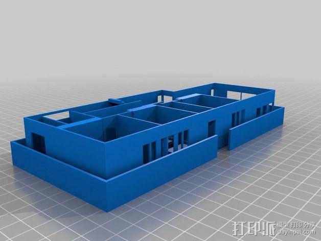 澳洲联储大厦模型 3D模型  图17