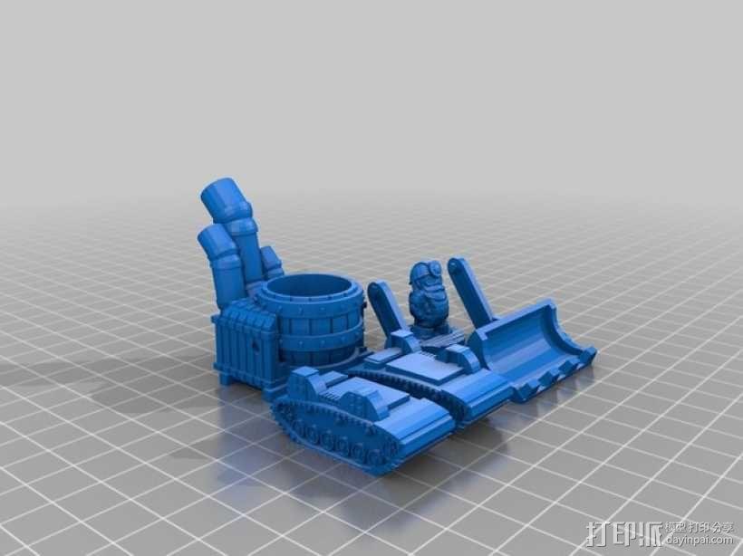 小矮人 3D模型  图5