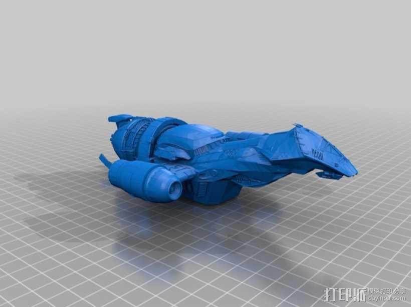 宁静号运输机 3D模型  图2