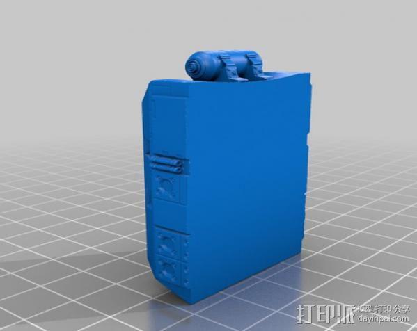 蒙面斗士的头盔 3D模型  图7