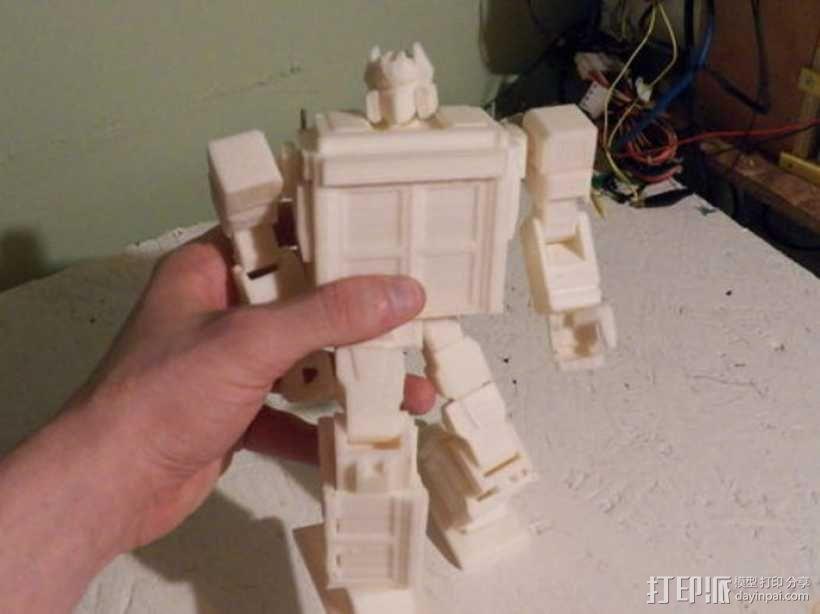 塔迪斯变形金刚 3D模型  图16