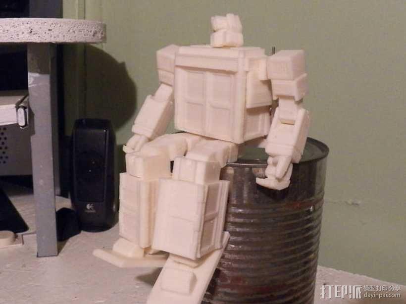 塔迪斯变形金刚 3D模型  图15