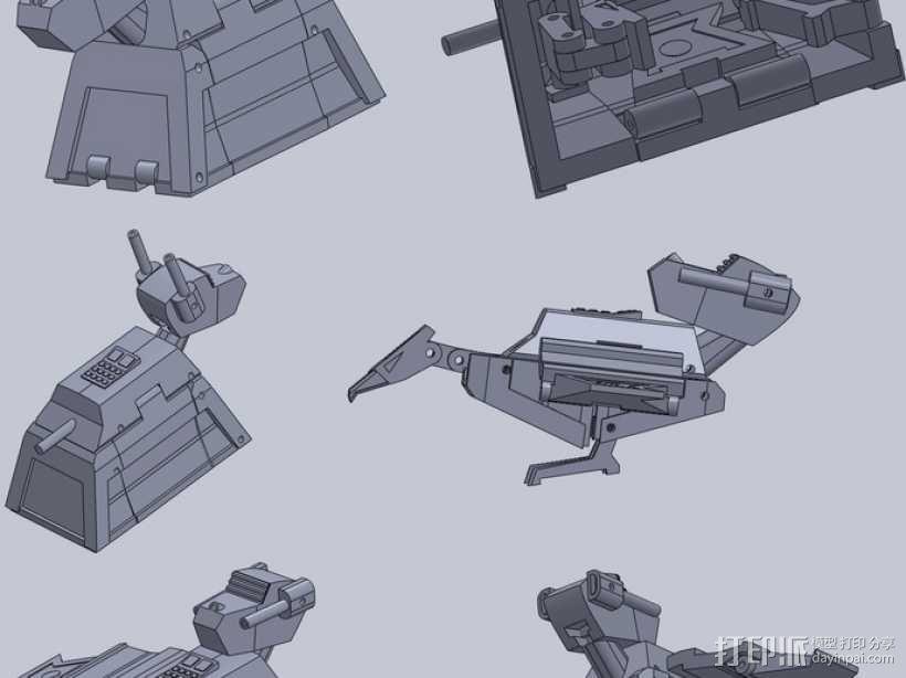 塔迪斯变形金刚 3D模型  图17
