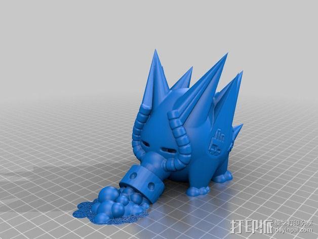 史诺克吸糖机 3D模型  图2