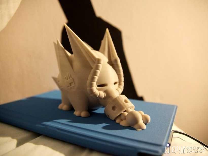 史诺克吸糖机 3D模型  图1