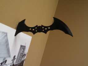 蝙蝠镖图钉 挂钩 3D模型