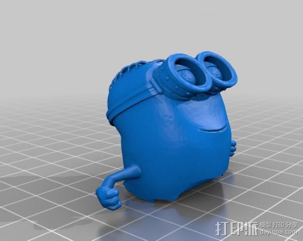 小黄人模型 3D模型  图4