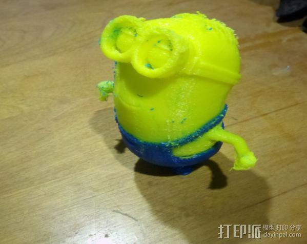 小黄人模型 3D模型  图1