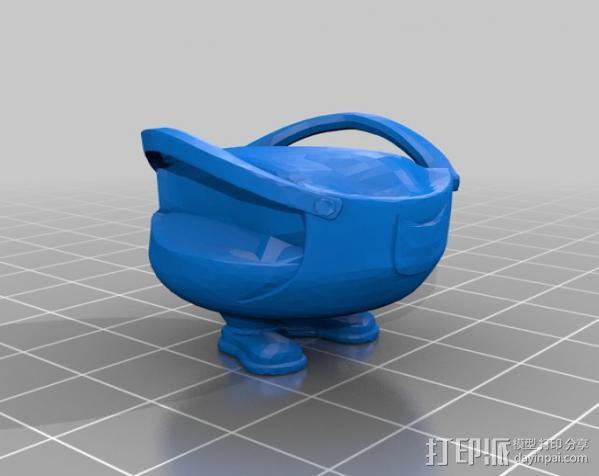 小黄人模型 3D模型  图3