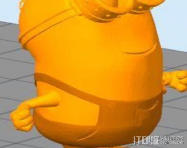 小黄人模型 3D模型  图2
