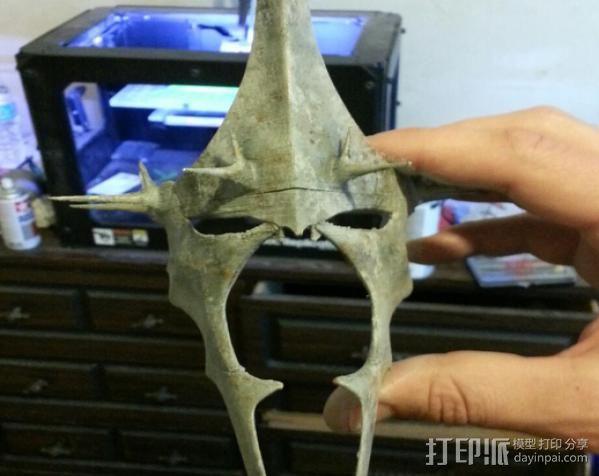 指环王精灵王子头盔 3D模型  图2