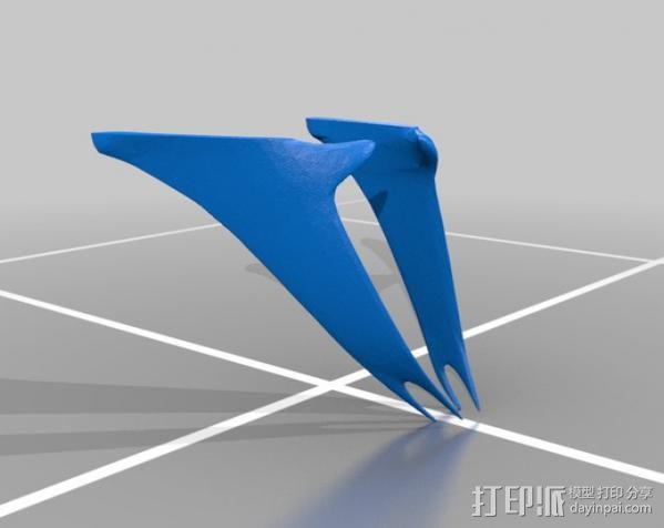 指环王精灵王子头盔 3D模型  图3