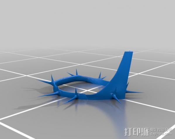指环王精灵王子头盔 3D模型  图6