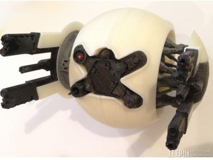 守卫者号无人机 3D模型  图1