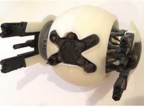 守卫者号无人机 3D模型