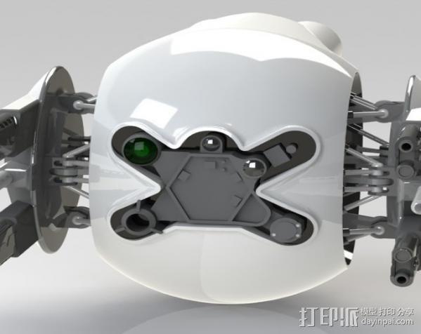 守卫者号无人机 3D模型  图4