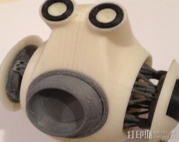 守卫者号无人机 3D模型  图5