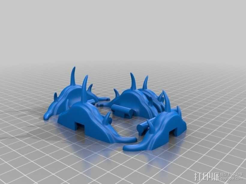 三叶虫 多棘刺虫模型 3D模型  图7