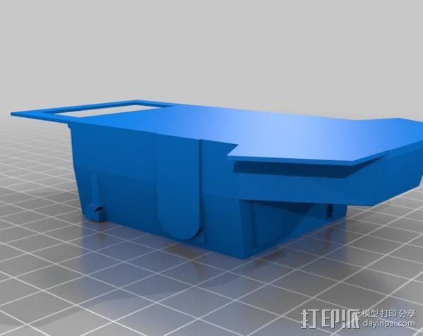 机遇号火星探测器 3D模型  图1