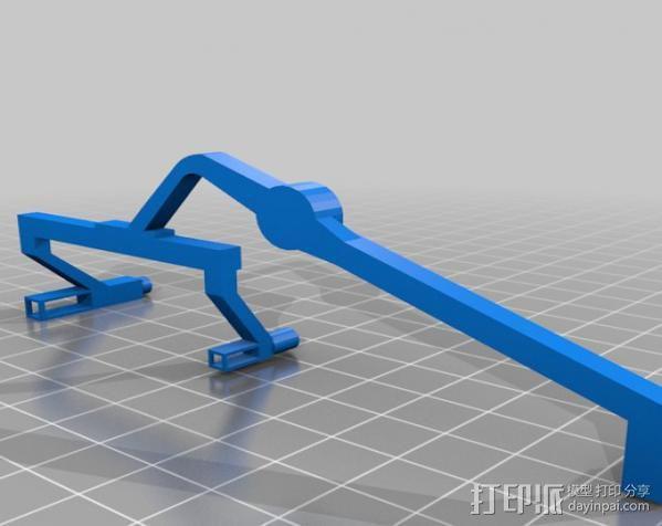机遇号火星探测器 3D模型  图3