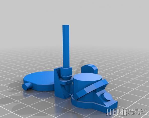 机遇号火星探测器 3D模型  图7