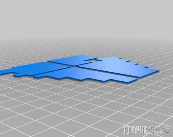 机遇号火星探测器 3D模型  图12