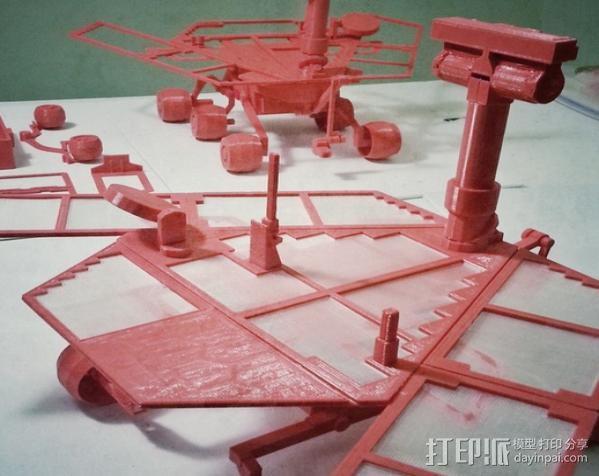 机遇号火星探测器 3D模型  图16