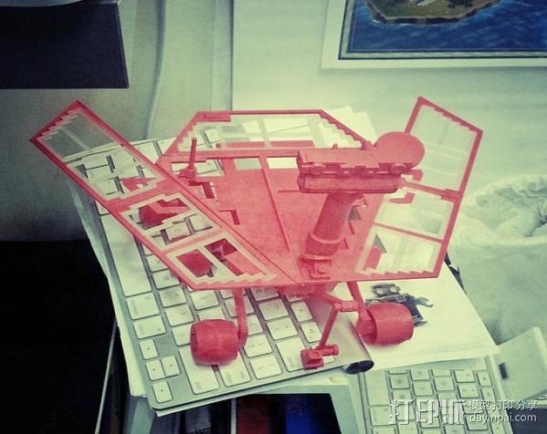 机遇号火星探测器 3D模型  图17