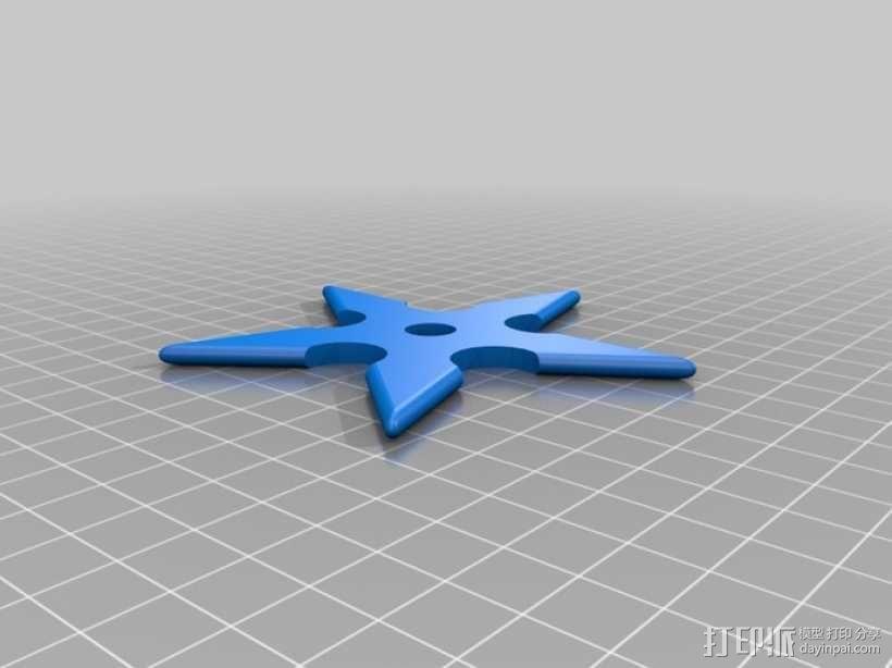 忍者飞镖  3D模型  图4