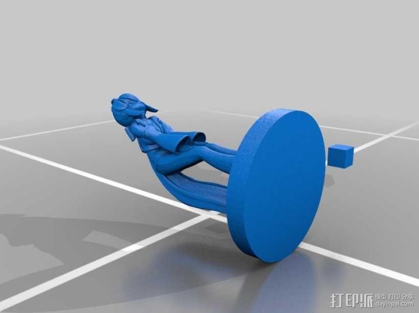 初音未来模型 3D模型  图1