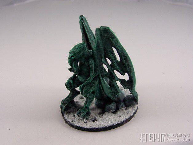 星之邪神克苏鲁 3D模型  图9