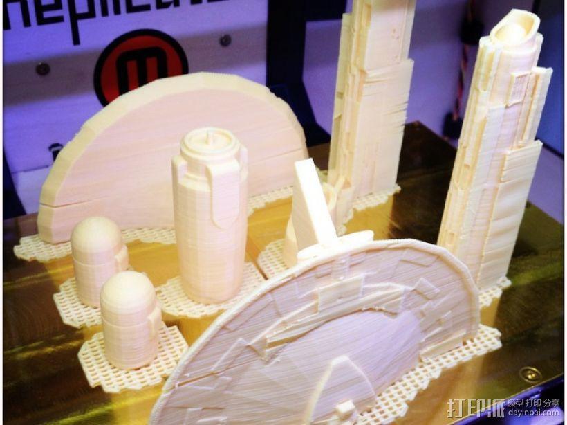 USS Enterprise NCC 1701星舰模型 3D模型  图3