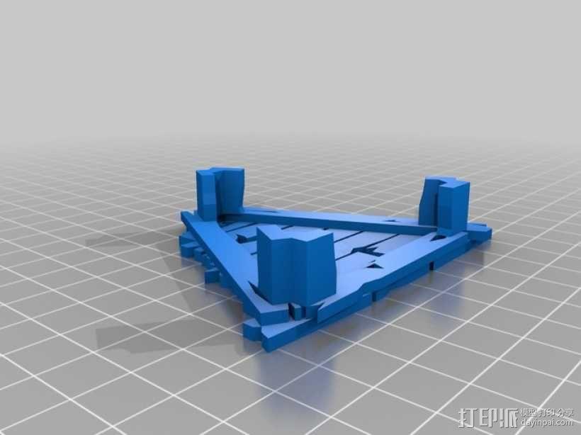 野蛮人的瞭望塔 3D模型  图1