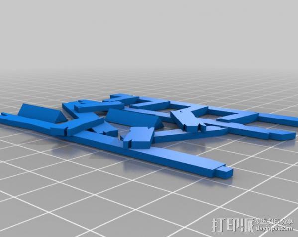 野蛮人的瞭望塔 3D模型  图3