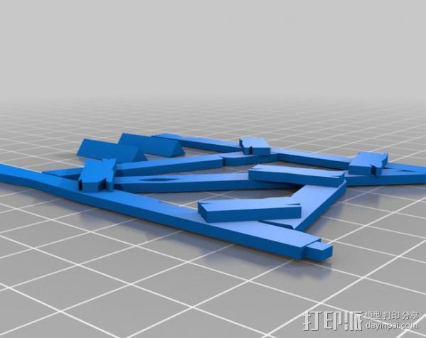 野蛮人的瞭望塔 3D模型  图2