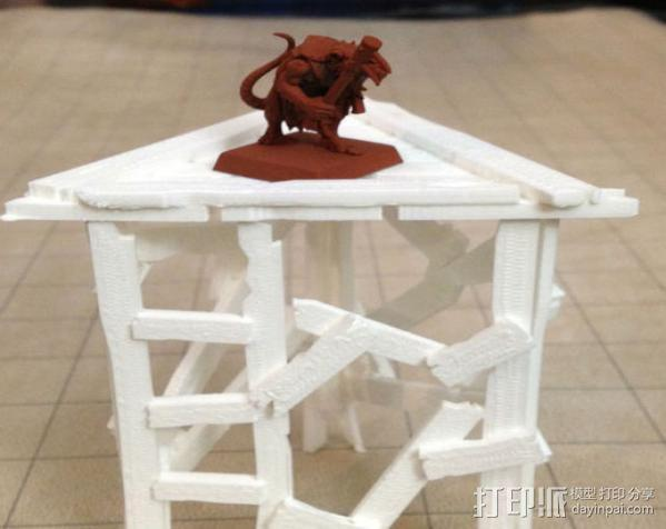 野蛮人的瞭望塔 3D模型  图6
