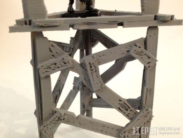 野蛮人的瞭望塔 3D模型  图5