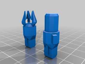 坦克世界 迷你机器人 3D模型