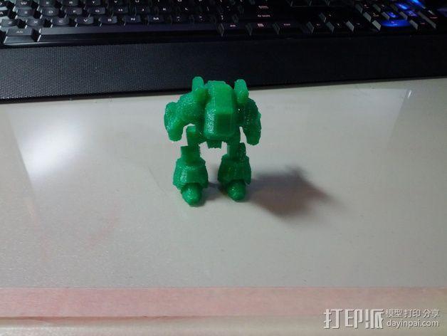 坦克世界 迷你机器人 3D模型  图5