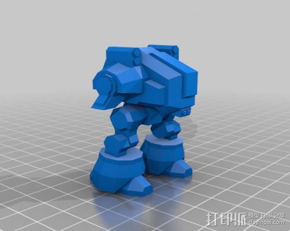 坦克世界 迷你机器人 3D模型  图9